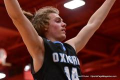 CIAC Boys Basketball; Wolcott 81 vs. Oxford 74 - Photo # 598