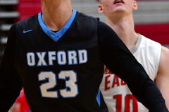 CIAC Boys Basketball; Wolcott 81 vs. Oxford 74 - Photo # 686