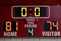 CIAC Boys Basketball; Wolcott 81 vs. Oxford 74 - Photo # 701