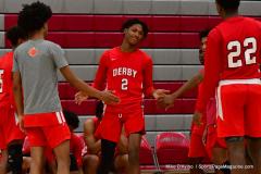 Gallery CIAC Boys Basketball; Wolcott vs. Derby - Photo # 317