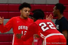 Gallery CIAC Boys Basketball; Wolcott vs. Derby - Photo # 321