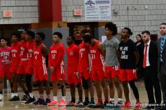 Gallery CIAC Boys Basketball; Wolcott vs. Derby - Photo # 357