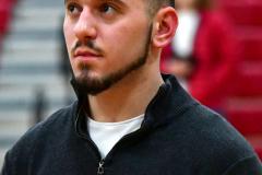 Gallery CIAC Boys Basketball; Wolcott vs. Derby - Photo # 376