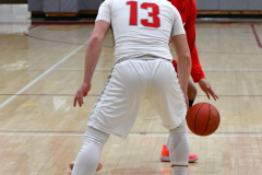 Gallery CIAC Boys Basketball; Wolcott vs. Derby - Photo # 400