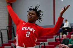 Gallery CIAC Boys Basketball; Wolcott vs. Derby - Photo # 405