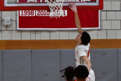 Gallery CIAC Boys Basketball; Wolcott vs. Derby - Photo # 414