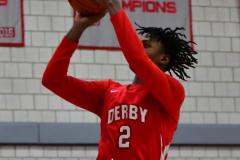 Gallery CIAC Boys Basketball; Wolcott vs. Derby - Photo # 431