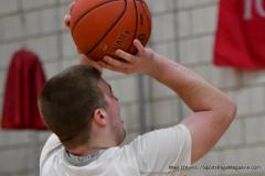 Gallery CIAC Boys Basketball; Wolcott vs. Derby - Photo # 443