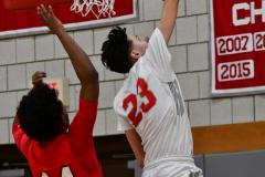 Gallery CIAC Boys Basketball; Wolcott vs. Derby - Photo # 465