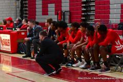 Gallery CIAC Boys Basketball; Wolcott vs. Derby - Photo # 473