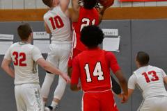 Gallery CIAC Boys Basketball; Wolcott vs. Derby - Photo # 481