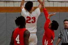 Gallery CIAC Boys Basketball; Wolcott vs. Derby - Photo # 488
