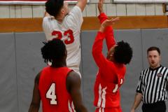 Gallery CIAC Boys Basketball; Wolcott vs. Derby - Photo # 489