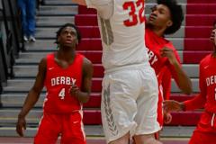 Gallery CIAC Boys Basketball; Wolcott vs. Derby - Photo # 497