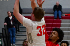 Gallery CIAC Boys Basketball; Wolcott vs. Derby - Photo # 498