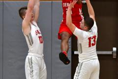 Gallery CIAC Boys Basketball; Wolcott vs. Derby - Photo # 501