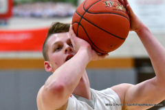Gallery CIAC Boys Basketball; Wolcott vs. Derby - Photo # 513