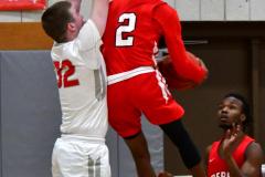 Gallery CIAC Boys Basketball; Wolcott vs. Derby - Photo # 525