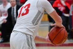 Gallery CIAC Boys Basketball; Wolcott vs. Derby - Photo # 531