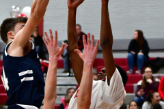 CIAC Boys Basketball; Wolcott JV vs. Ansonia JV - Photo # (101)