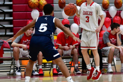 CIAC Boys Basketball; Wolcott JV vs. Ansonia JV - Photo # (17)