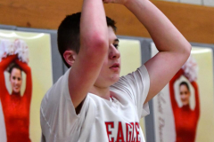 CIAC Boys Basketball; Wolcott JV vs. Ansonia JV - Photo # (22)