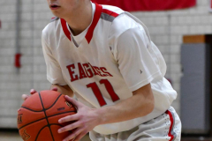 CIAC Boys Basketball; Wolcott JV vs. Ansonia JV - Photo # (27)