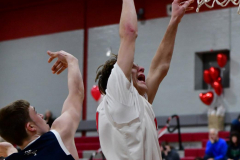 CIAC Boys Basketball; Wolcott JV vs. Ansonia JV - Photo # (3)