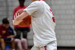 CIAC Boys Basketball; Wolcott JV vs. Ansonia JV - Photo # (30)