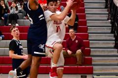 CIAC Boys Basketball; Wolcott JV vs. Ansonia JV - Photo # (35)