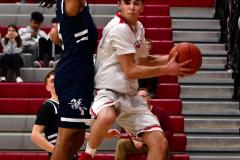 CIAC Boys Basketball; Wolcott JV vs. Ansonia JV - Photo # (36)