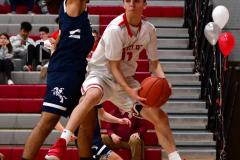 CIAC Boys Basketball; Wolcott JV vs. Ansonia JV - Photo # (37)