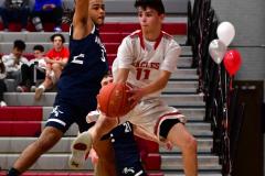 CIAC Boys Basketball; Wolcott JV vs. Ansonia JV - Photo # (38)