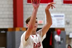 CIAC Boys Basketball; Wolcott JV vs. Ansonia JV - Photo # (4)