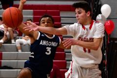 CIAC Boys Basketball; Wolcott JV vs. Ansonia JV - Photo # (40)