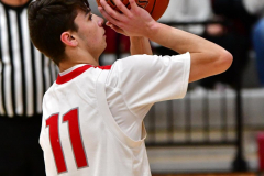 CIAC Boys Basketball; Wolcott JV vs. Ansonia JV - Photo # (41)
