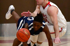 CIAC Boys Basketball; Wolcott JV vs. Ansonia JV - Photo # (44)