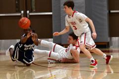CIAC Boys Basketball; Wolcott JV vs. Ansonia JV - Photo # (45)