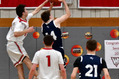 CIAC Boys Basketball; Wolcott JV vs. Ansonia JV - Photo # (46)