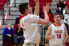 CIAC Boys Basketball; Wolcott JV vs. Ansonia JV - Photo # (54)
