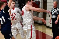 CIAC Boys Basketball; Wolcott JV vs. Ansonia JV - Photo # (55)