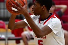 CIAC Boys Basketball; Wolcott JV vs. Ansonia JV - Photo # (61)