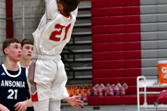 CIAC Boys Basketball; Wolcott JV vs. Ansonia JV - Photo # (62)
