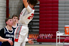 CIAC Boys Basketball; Wolcott JV vs. Ansonia JV - Photo # (63)
