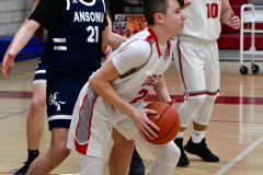 CIAC Boys Basketball; Wolcott JV vs. Ansonia JV - Photo # (65)