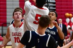 CIAC Boys Basketball; Wolcott JV vs. Ansonia JV - Photo # (70)