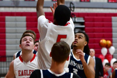 CIAC Boys Basketball; Wolcott JV vs. Ansonia JV - Photo # (71)