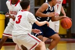 CIAC Boys Basketball; Wolcott JV vs. Ansonia JV - Photo # (79)
