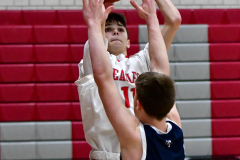 CIAC Boys Basketball; Wolcott JV vs. Ansonia JV - Photo # (9)