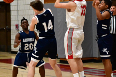 CIAC Boys Basketball; Wolcott JV vs. Ansonia JV - Photo # (91)